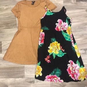 👗Dress bundle Old navy & forever21 size 10/12